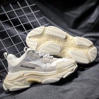 sỉ giày balenciaga triple S rep trắng