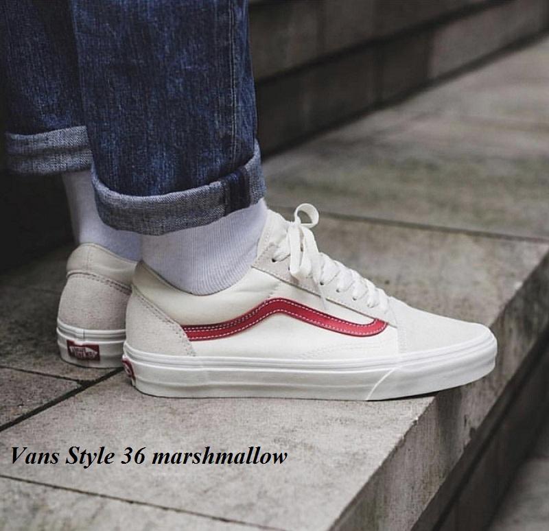 giày Vans Style 36 marshmallow
