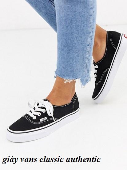 sỉ giày vans classic authentic