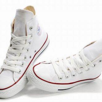 giày converse trắng cổ cao